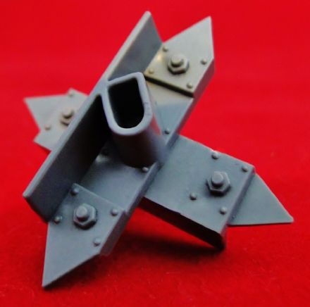 Small Barricade Cross Spikes from Warhammer 40,000 3rd edition